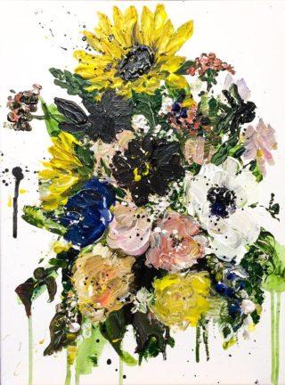 Julie's Flowers   Elizabeth Power artist