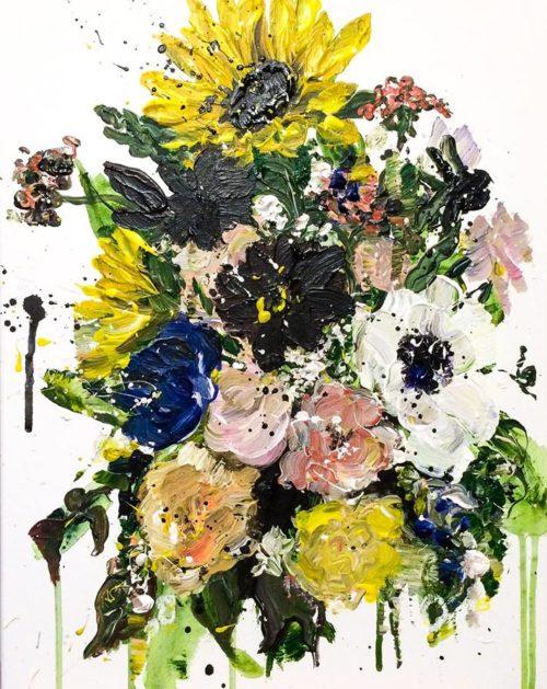 Julie's Flowers | Elizabeth Power artist