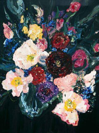 October Blooms   Elizabeth Power artist