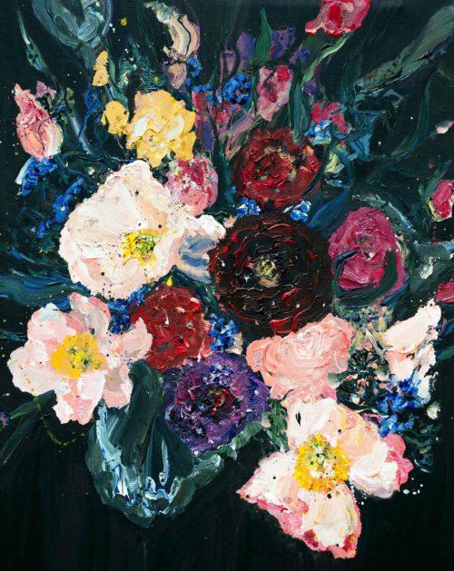 October Blooms | Elizabeth Power artist