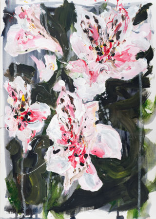 Lillies   Elizabeth Power artist