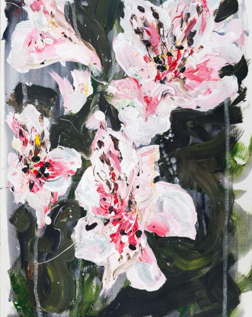 Lillies | Elizabeth Power artist