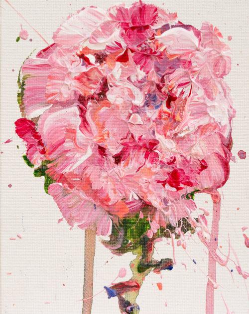 Pink Peony | Elizabeth Power artist