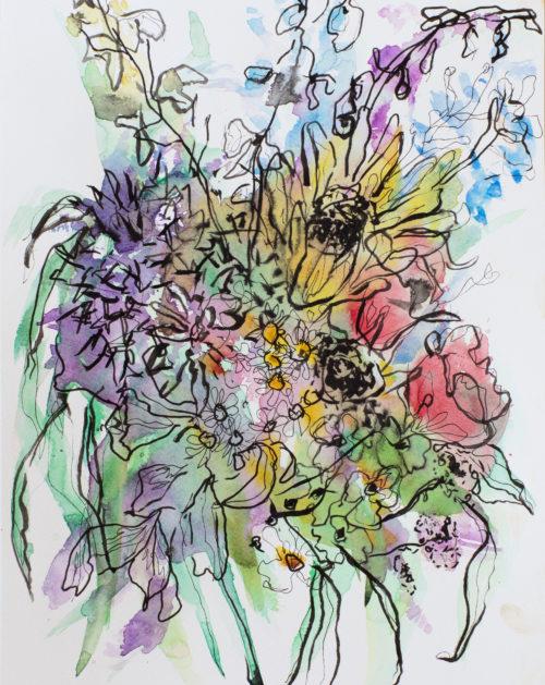 Lucky Day Bouquet | Elizabeth Power artist