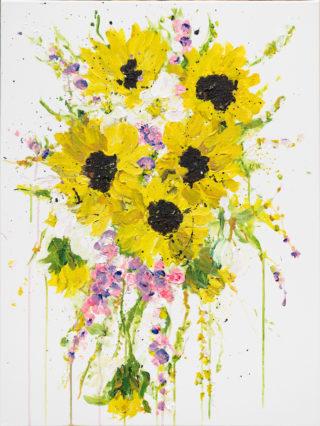 Kent Sunflowers   Elizabeth Power artist