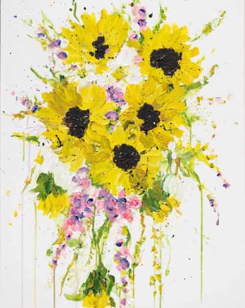 Kent Sunflowers | Elizabeth Power artist