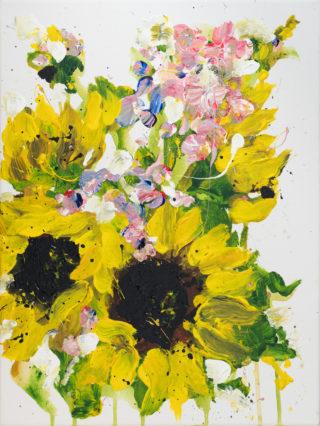 Sunflowers for Sarwah   Elizabeth Power artist
