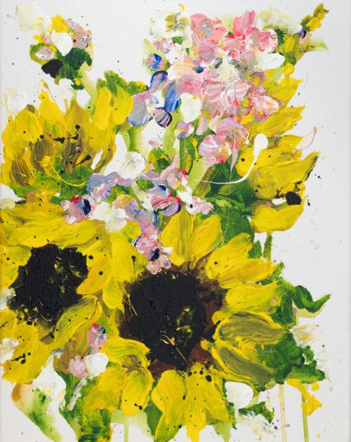 Sunflowers for Sarwah | Elizabeth Power artist