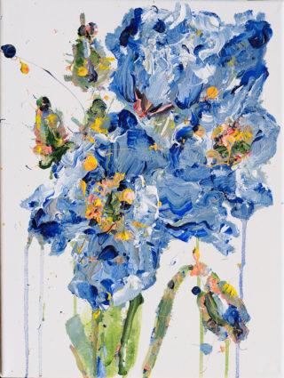 Blue Poppies   Elizabeth Power artist