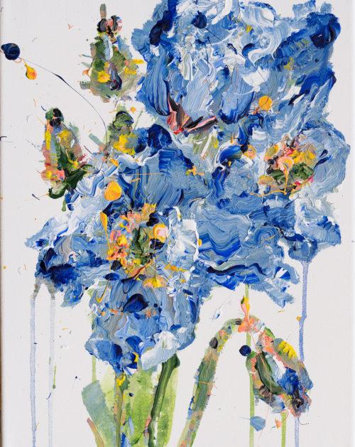 Blue Poppies | Elizabeth Power artist