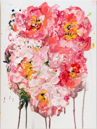 Coral Peonies   Elizabeth Power artist
