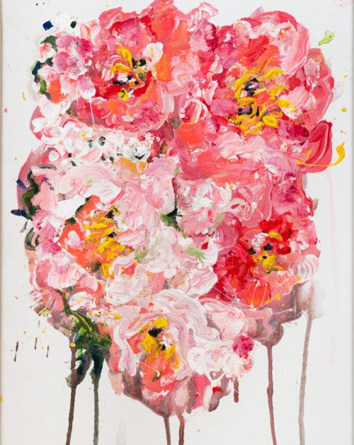 Coral Peonies | Elizabeth Power artist