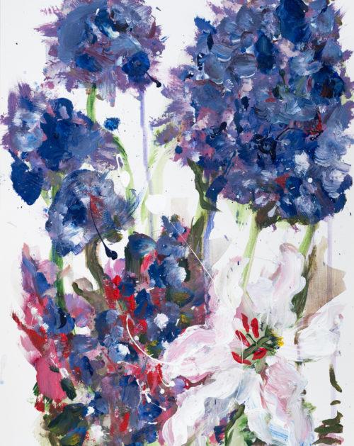 Purple Hydrangeas | Elizabeth Power artist