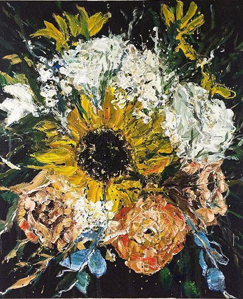 Carnival Blooms | Elizabeth Power artist