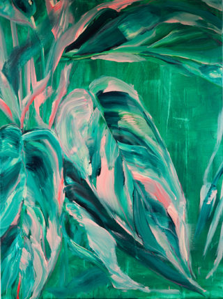 Palms for Pierre | Elizabeth Power artist
