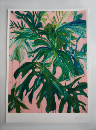 Pink Panther print (Limited Edition of 50) | Elizabeth Power artist
