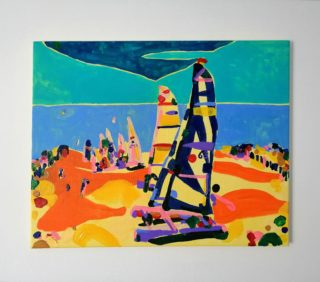 St Leonard's Beach | Elizabeth Power artist