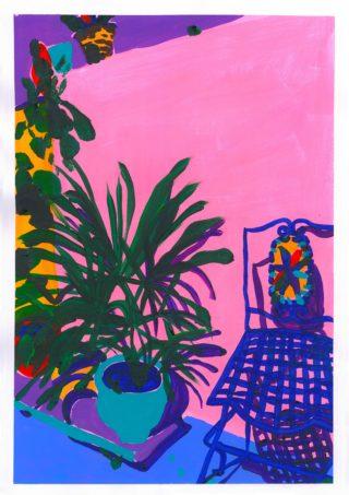Garden Chair (Limited edition print) | Elizabeth Power artist
