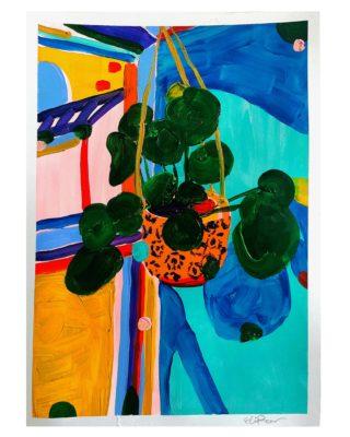 Kitchen plant | Elizabeth Power artist