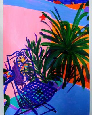 Garden Chair 3 | Elizabeth Power artist