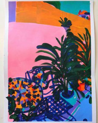 garden chair 2 | Elizabeth Power artist