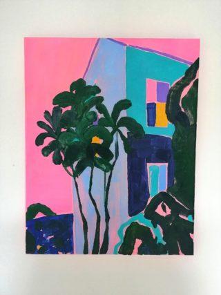 The Pink Glow | Elizabeth Power artist