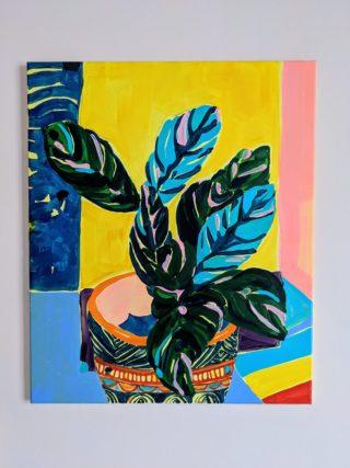 Still Life and stripes | Elizabeth Power artist