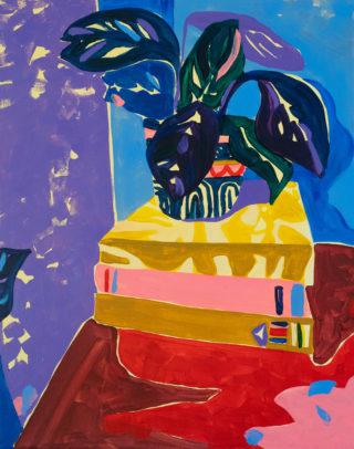 Still Life with books | Elizabeth Power artist