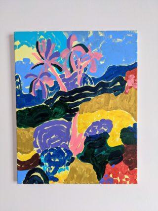 Landscape of Gensing Gardens | Elizabeth Power artist