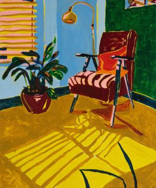 Living Room Chair | Elizabeth Power artist