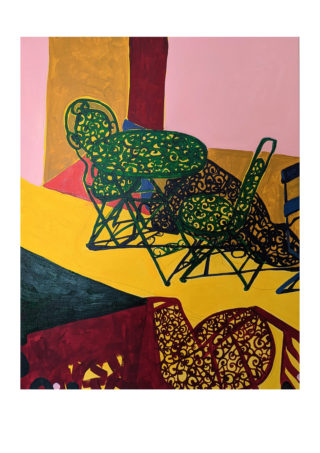Kings Road Table and Chair | Elizabeth Power artist